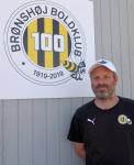Træner Michael Winter - Brønshøj Boldklub 100 år