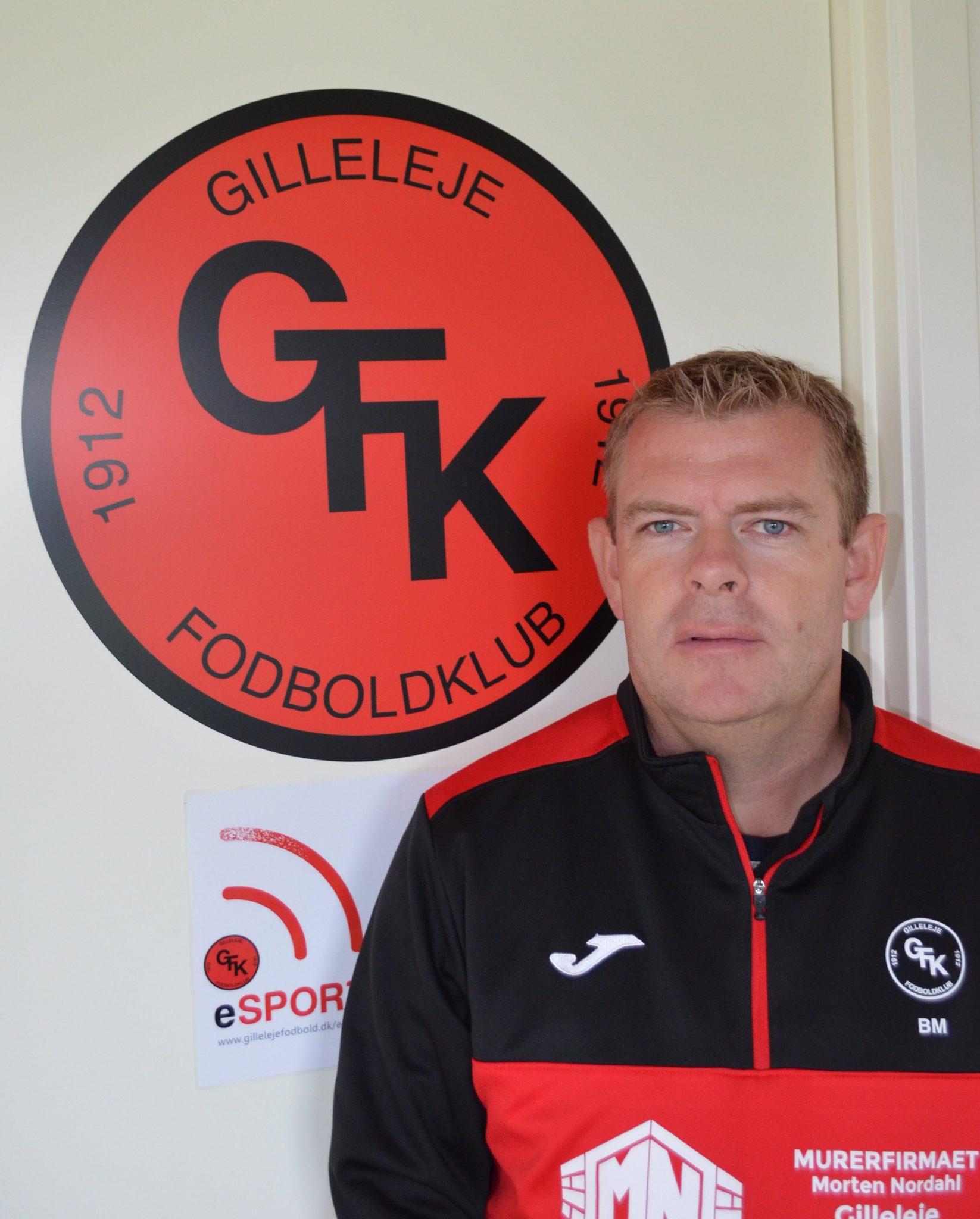 Brian Mogensen, leder af seniorafdelingen i Gilleleje Boldklub