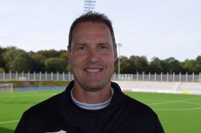 FC Helsingørs træner Morten Eskesen