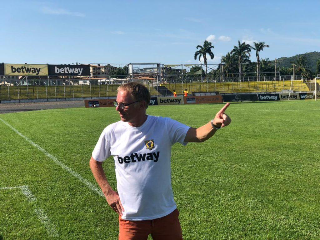 John Christensen - tidligere direktør og træner i klubben Ashanti Gold – en af topklubberne i Ghana