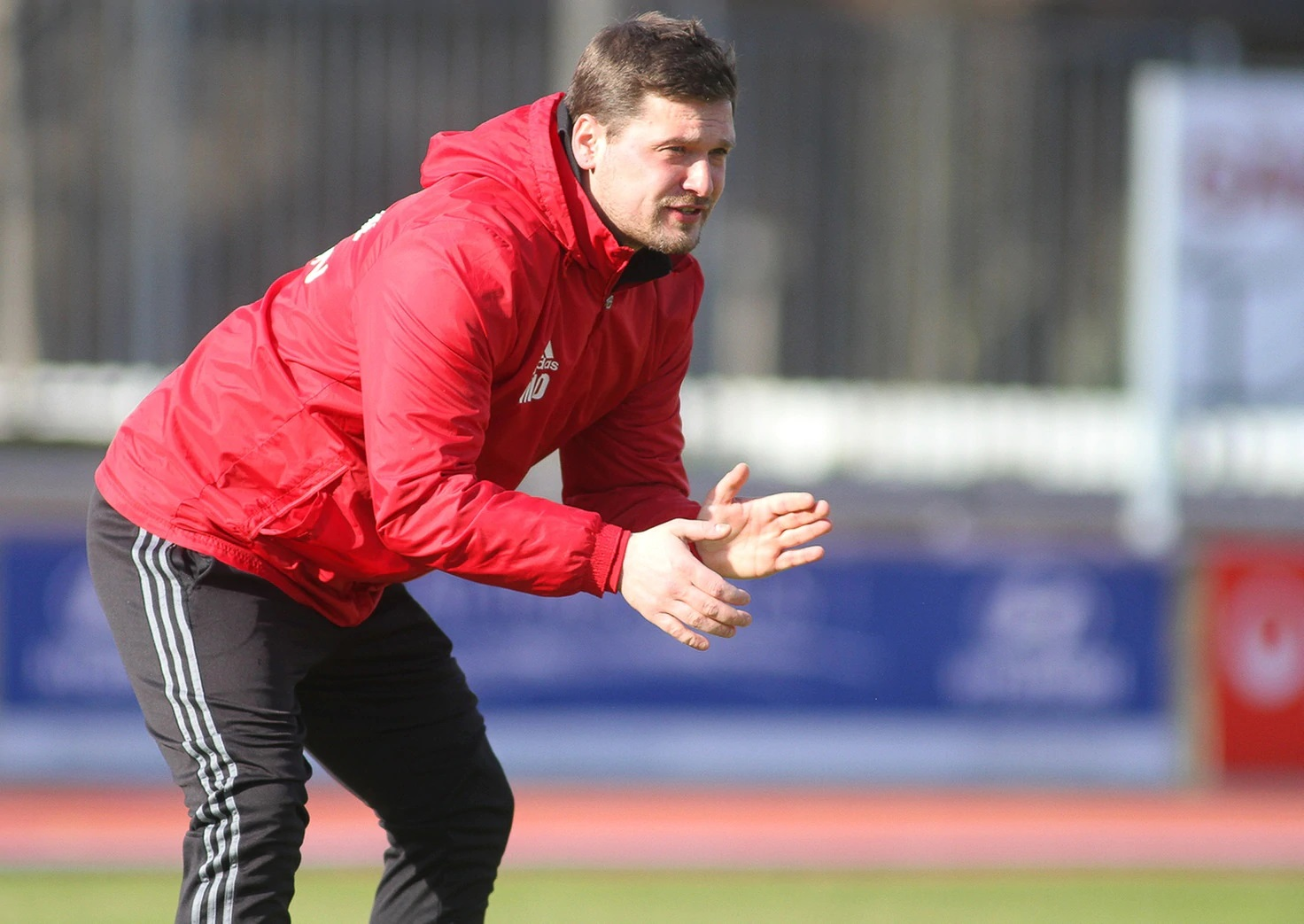 Næstved Boldklubs nye tyske træner Maximilian Dentz har en fortid i den tyske Regionalliga. (Foto: Torsten Zettl)
